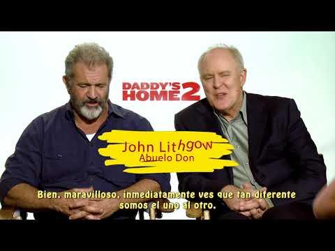 GUERRA DE PAPAS 2! Entrevista a Mark Walhberg, Will Ferrell, Mel Gibson y John Lithgow!