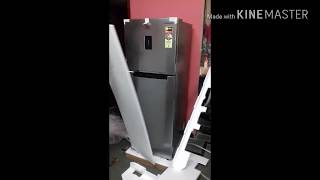 unboxing the samsung refrigerator RT28K3423S8