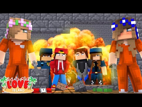 THE GANG BREAK OUT OF PRISON! | Minecraft Love Island | Little Kelly