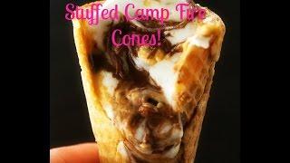 Stuffed Camp Fire Cones!