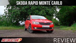 Skoda Rapid Monte Carlo Review | Hindi | MotorOctane