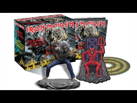 Iron Maiden : batch #1 The Studio Collection - remastered 🤘unboxing !