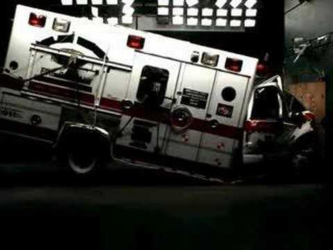 Inelastic Collision Car Crash