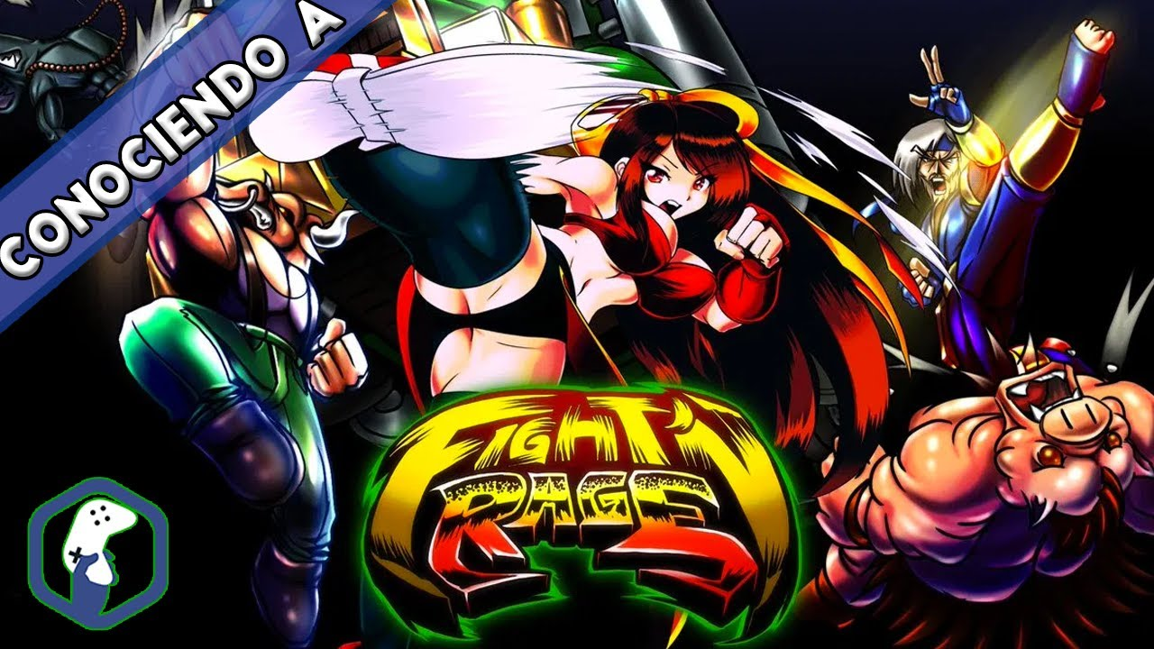 Fight N Rage / BEAT EM UP / NINTENDO SWITCH / PS4 / XBOX / PC / CONOCIENDO A