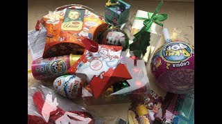 Обзор покупок и подарков к Новому году🎄Что в новогоднем наборе Аленка?