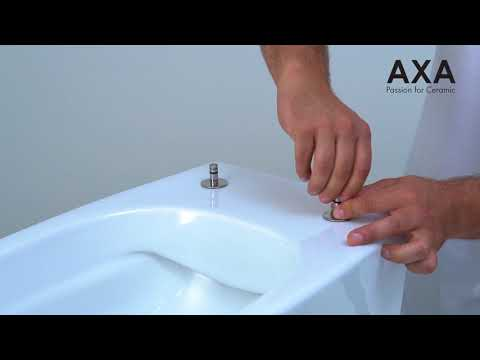 Axa Montaggio Copriwater Mounting The Seat Cover Youtube