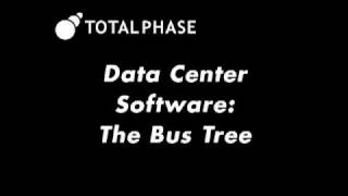 Using The Bus Tree Feature Of The Data Center Software For Usb Debugging And Analysis
