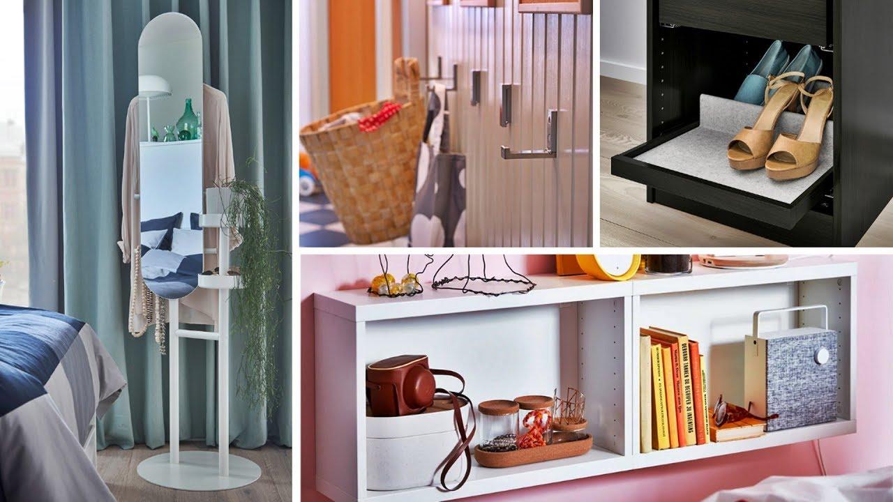 25 Ikea Bedroom Storage Ideas Youtube
