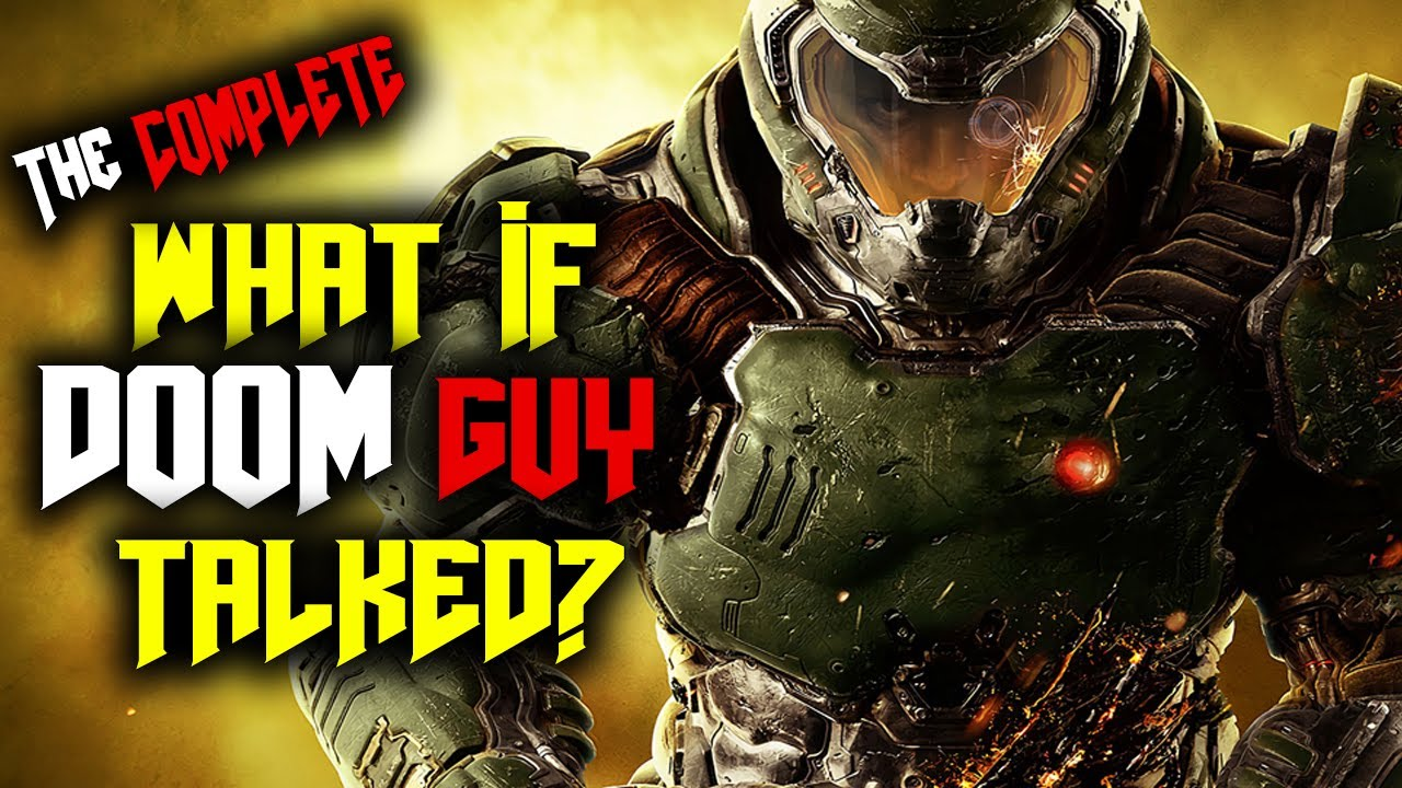 What if Doom Guy Talked? - The Complete Saga | Doom 2016, Doom Eternal, & The Ancient Gods (Parody)
