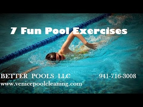 7 Fun Swimming Exercises in your own swimming pool