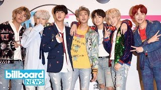 BTS' 'MIC Drop' Becomes First Rhythmic Songs Chart Hit for a K-Pop Group | Billboard News