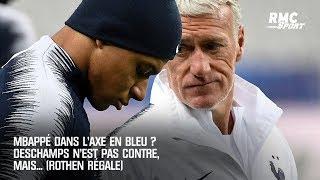 Mbappé dans l'axe en équipe de France ? Deschamps n'est pas contre, mais... (Rothen régale)