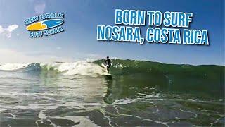 Born to surf at Corky Carroll
