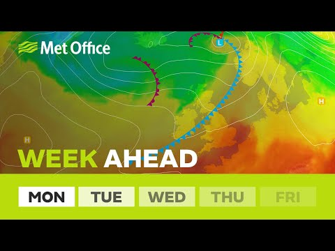 Week ahead – A warm humid start then things freshen up - 20/08/18