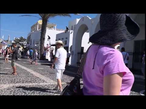 Holiday video Santorini Greece 2015