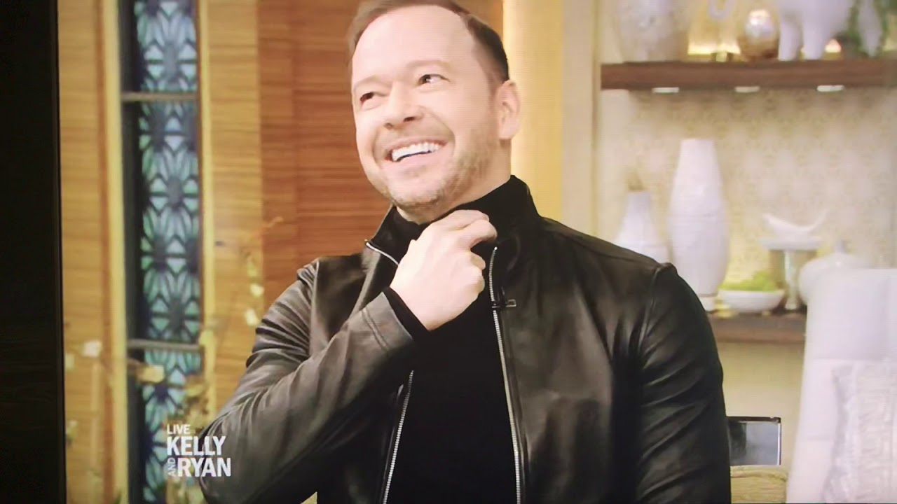 Donnie Wahlberg on Live w/ Kelly & Ryan 2/7/19 image