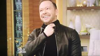 Donnie Wahlberg on Live w/ Kelly & Ryan 2/7/19 Video
