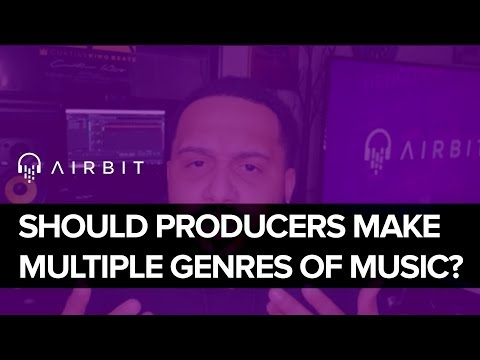 Should Music Producers Make Multiple Genres Of Music?
