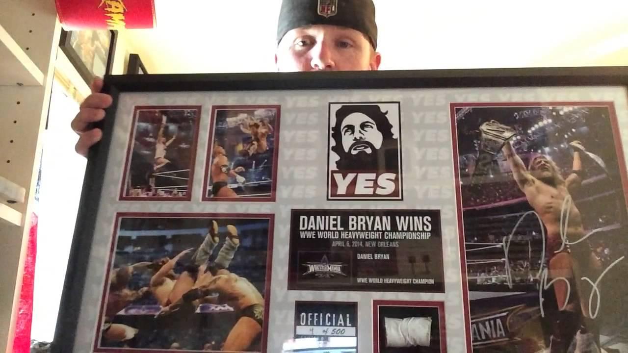 Daniel Bryan Wrestlemania 30 plaque UNBOXING 4/500 - YouTubeDaniel Bryan Wrestlemania 30 Wallpaper