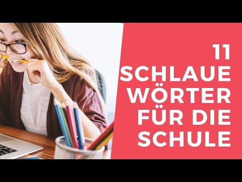 11 SCHLAUE WÖRTER für Unterricht und Klausuren