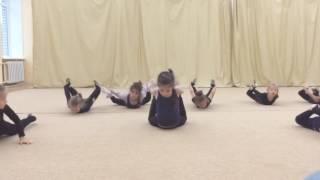 Центр гимнастики Юлии Барсуковой. Открытый урок 2 уровень.