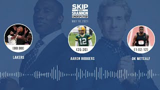 Lakers, Aaron Rodgers, DK Metcalf (5.10.21) | UNDISPUTED Audio Podcast