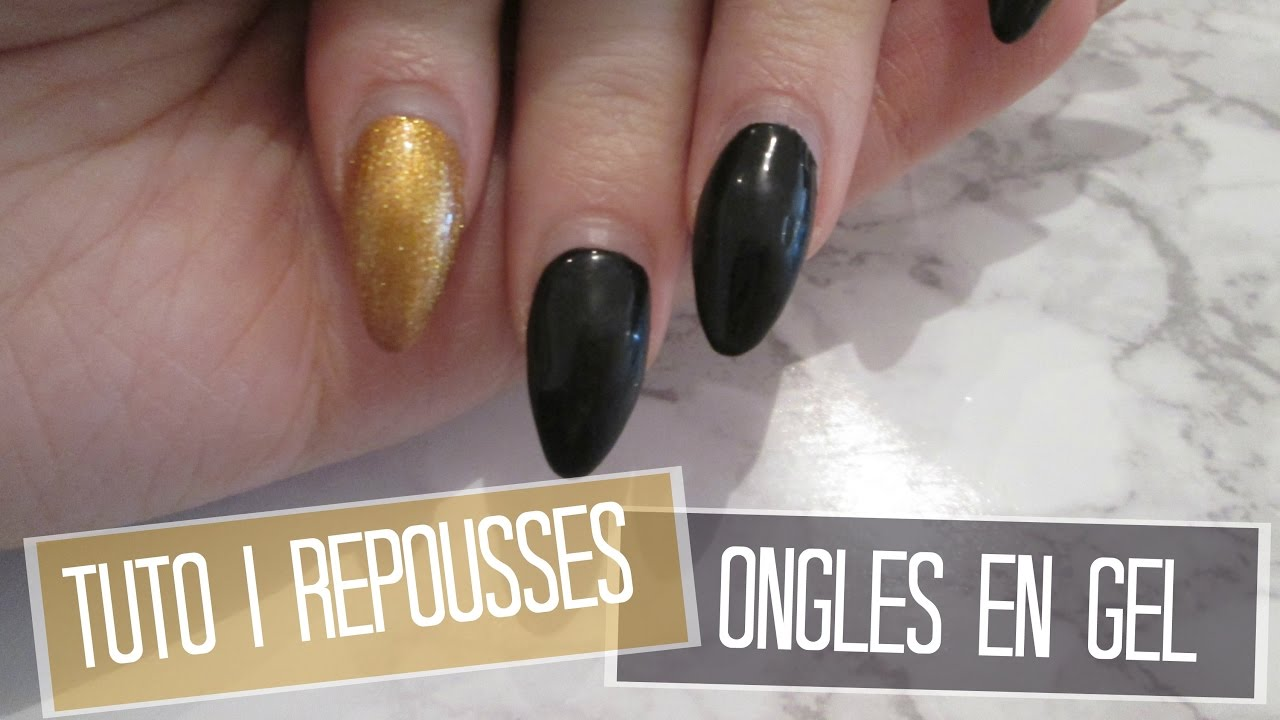 tuto repousses ongles en gel melissa easy nails youtube. Black Bedroom Furniture Sets. Home Design Ideas