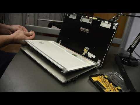 Замена LCD матрицы на ноутбуке Asus N56VV для увеличения производительности в играх