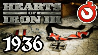 Hearts of Iron 3 - Road to War 1936 Timelapse
