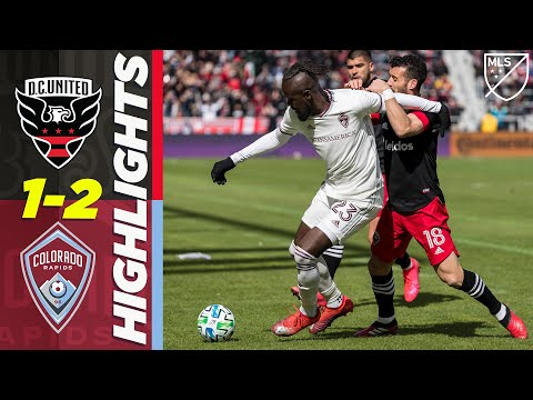 DC United Colorado Goals And Highlights