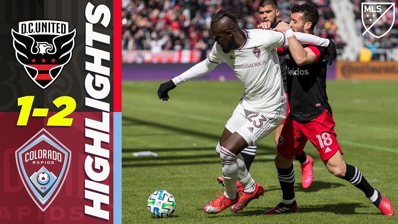D.C. United 1-2 Colorado Rapids   Jonathon Lewis Dramatic Stoppage Time Goal!   MLS HIGHLIGHTS