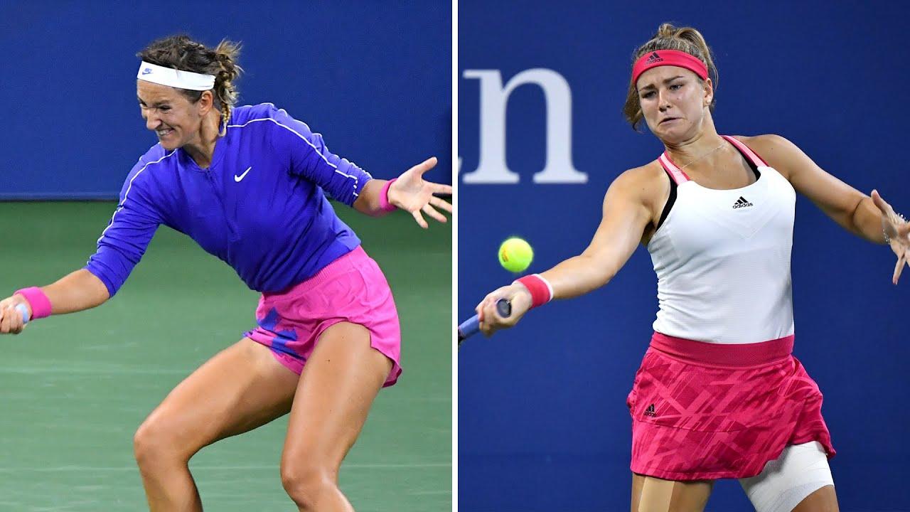 Victoria Azarenka vs Karolina Muchova Extended Highlights | US Open 2020 Round 4