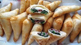 Paçanga Böreği tarifi- Muska böreği şeklinde- Ev Lezzetleri