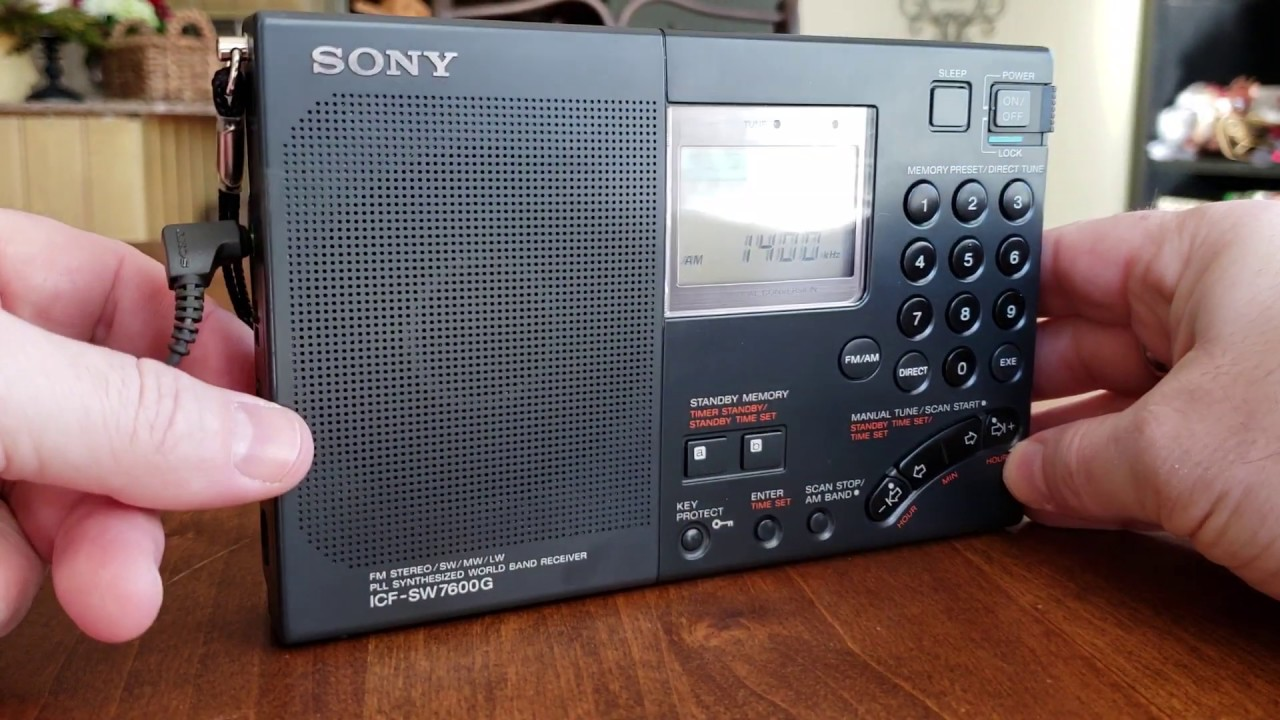 Sony ICF -SW 7600G Review | Shortwave Me