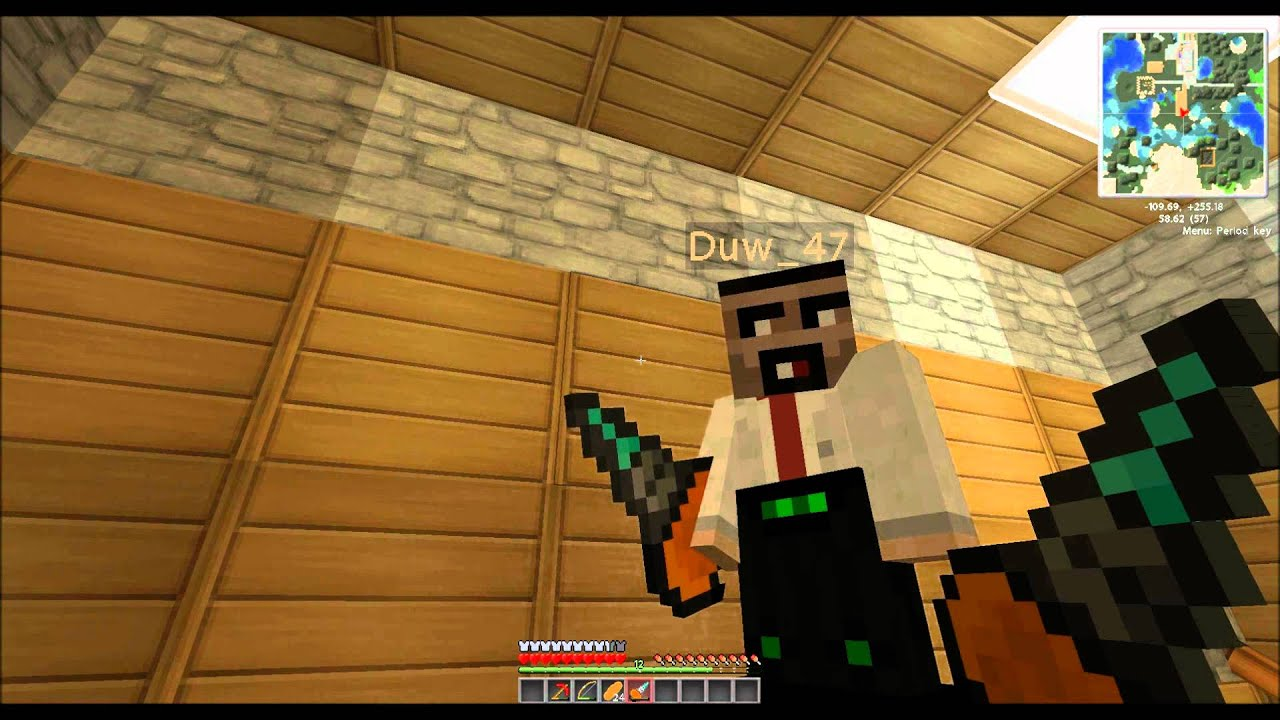 How to make a drill in Minecraft