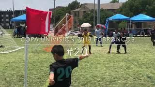 Copa Univision 2018 FC Broncos Champions!!