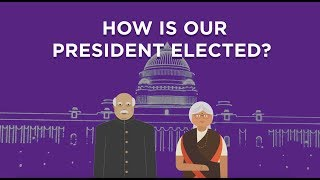 How is the President of India Elected?    Indian Democracy    Factly