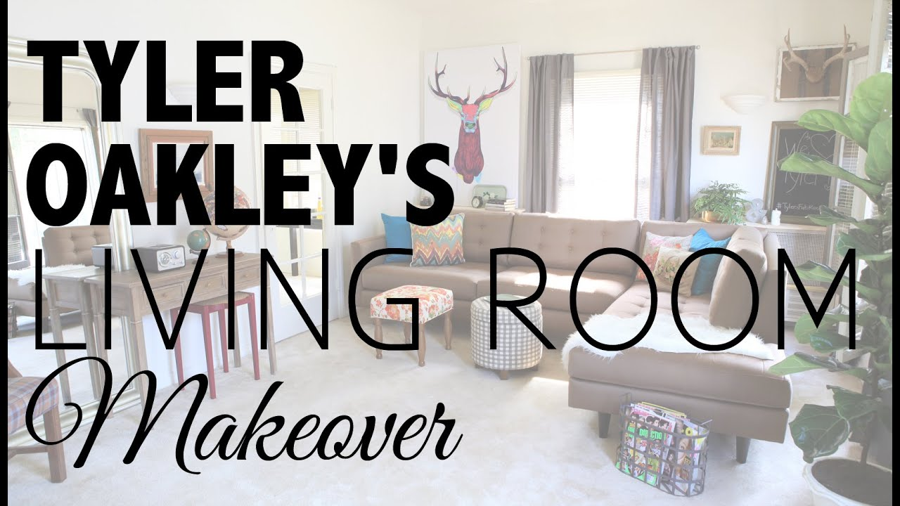 Living Room Makeover with Tyler Oakley - YouTube