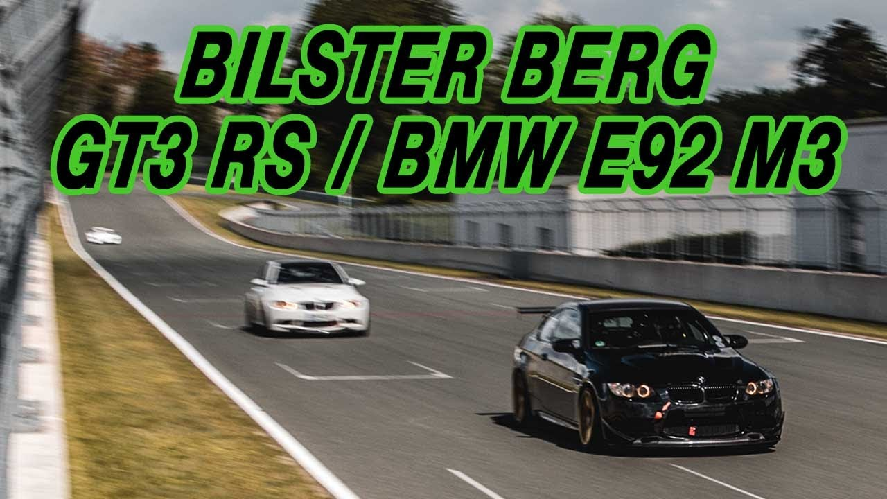 Bilster Berg Trackday - Porsche GT3 RS & BMW E92 - 1:47.7