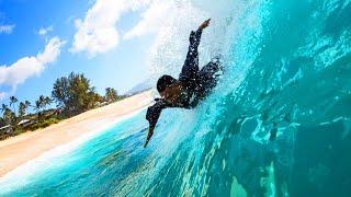 Body Surf Big Waves in Hawaii with the WaveWrecker Bodysurfing Wetsuit