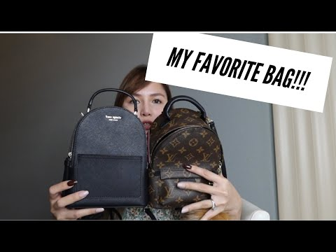 Louis Vuitton VS Kate Spade | Palm Spring Mini Backpack Review Comparison to Kate Spade Cameron