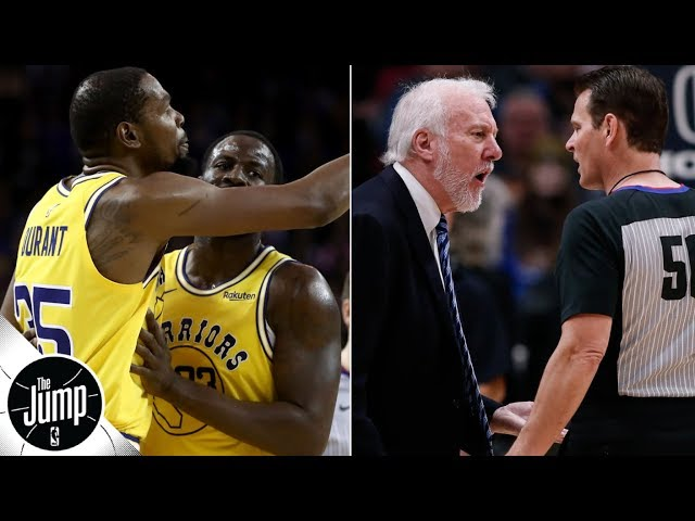 'Do not mess with the officials' right now - Brian Windhorst to NBA players and coaches | The Jump