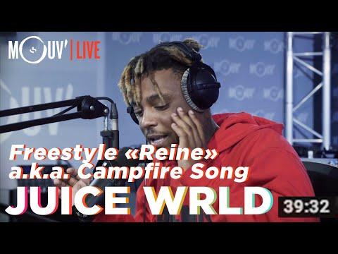 "Juice WRLD Freestyle Sur ""Reine"" De Dadju / ""Campfire Freestyle"" [official]"