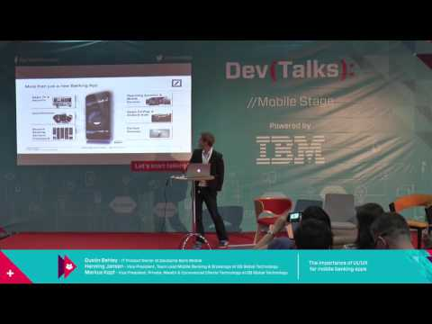 DevTalks Bucharest 2016 - The importance of UI/UX for mobile banking apps