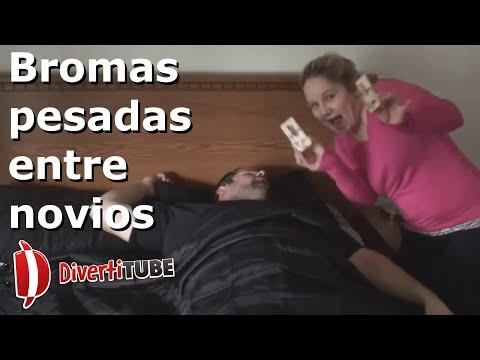 Vídeos de bromas pesadas y graciosas entre novios