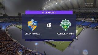 FIFA 21 | Ulsan Hyundai vs Jeonbuk Hyundai - Korean Cup | 04/11/2020 | 1080p 60FPS