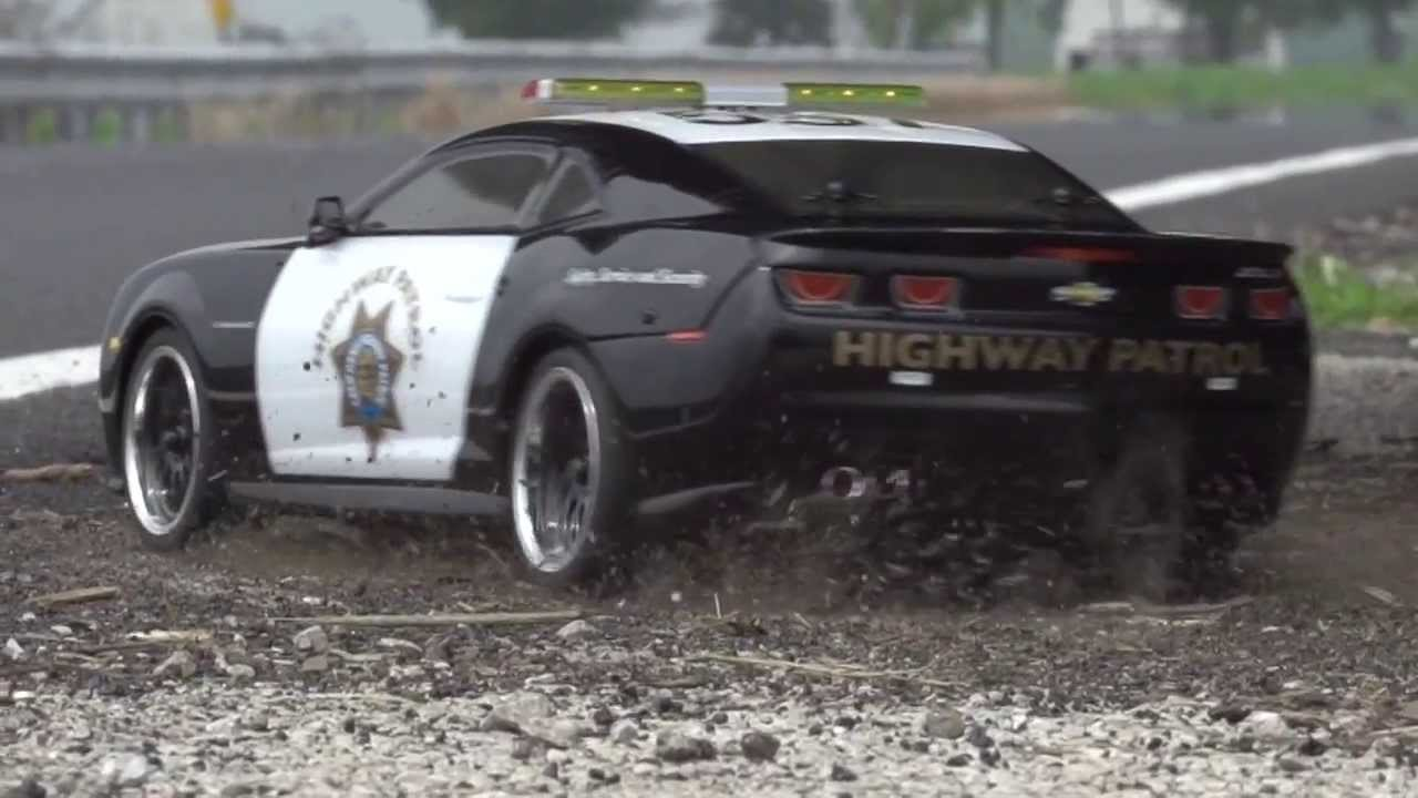 Vaterra Rc 2012 California Highway Patrol Camaro Zl1 Youtube