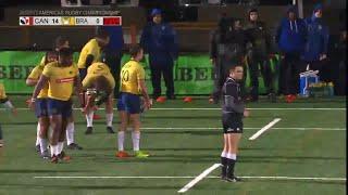 Monster Kick from Brazil's Josh Reeves