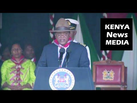 President Uhuru Kenyatta SPEECH during Patron's Day celebrations at State House!!!