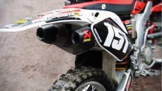 CRF 250R Geico Akrapovic rev limiter